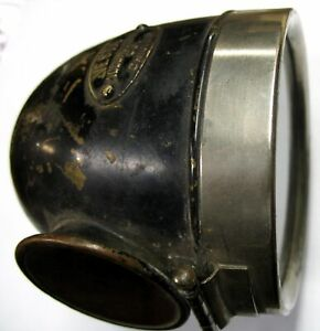 Early Vesta Nos Brass Tail Light Lamp American Lafrance Seagrave Ahrens Fox Mack