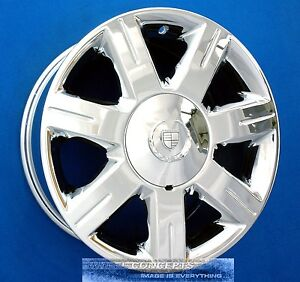 Cadillac Dts 17 Inch Chrome Wheel Exchange 06 07 4600