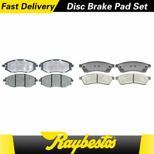 For 2006 2005 2004 Chevrolet Epica Front Rear Ceramic Brake Pads Raybestos