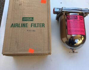 Msa 85759 Airline Vacuum Filter Assembly With 79030 Filter 1 2 Npt Ports