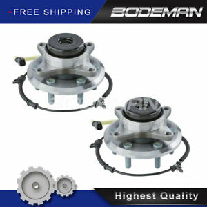 2 Front Wheel Hub Bearing For 2wd 2015 16 2017 Ford Expedition Lincoln Navigator