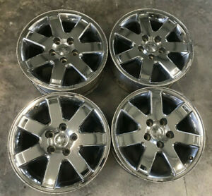 18 Jeep Commander Chrome Alloy Wheels Oem Rims Grand Cherokee Rare