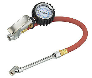 S G Tool Aid 65110 Dual Head Tire Inflator Dial Gage