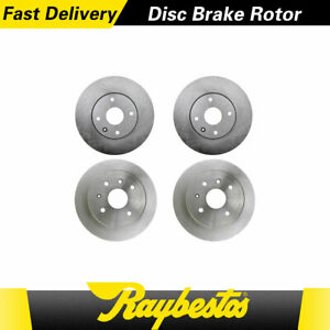 For 2006 2005 2004 Chevrolet Epica Front Rear Kit Brake Rotors Raybestos