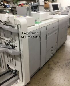 Canon Imagepress C700 Color Copier W stapling Fin And Large Paper Deck fiery