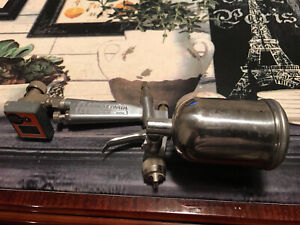 Anest Iwata Lph 50 Side Feed Industrial Spray Gun W Cup Gauge Made In Japan