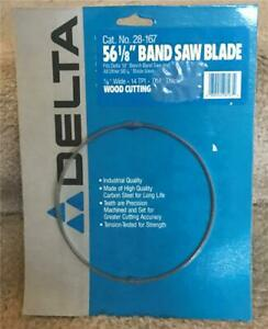 Delta 56 1 8 Wood Cutting Band Saw Blade 1 8 Wide New In Package