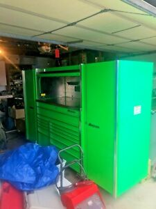 Extreme Green Snap On Tool Box