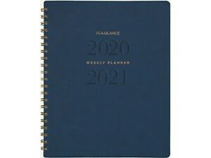 At a glance 2020 2021 8 38 X 11 Academic Planner Signatur Yp905a 20 21