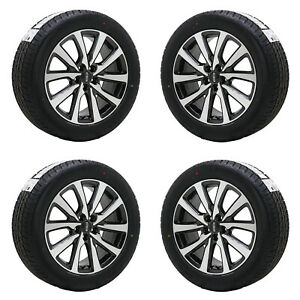 18 Lincoln Mkc Machine Gray Wheels 2015 2019 Rims Tires Factory Oem Set 4 10209
