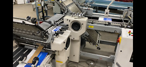 Baum Folder 20 Continuous Feed Ifold W 8pg Right Angle