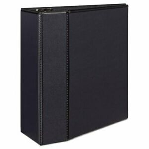 Avery Durable Slant Easy Insert Ring View Binder 5 Capacity Black ave09900