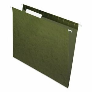 Pendaflex Hanging File Folders 1 3 Tab Letter Green 25 box pfx81601