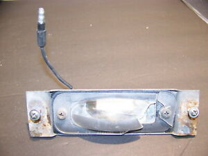 1966 Plymouth Satellite License Plate Light Oem Belvedere 67 Gtx