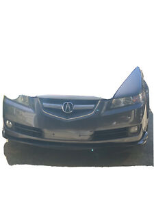 Fits 07 08 Acura Tl Cs Style Front Bumper Lip Unpainted Pu Poly Urethane