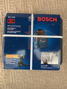 Bosch Gll 2 20 360 Degree Line And Cross Laser