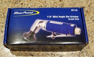 New Blue Point 115 Pnuematic Air Mini Angle Die Grinder At119