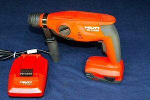 Hilti Te 2 a22 Cordless Sds plus Rotary Hammer Drill W Charger And Battery