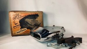 Early 1950 S Accessory Ford Mercury Bumper Exhaust Tip Chrome Extension