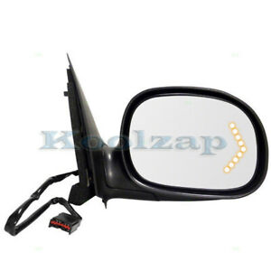 F Series Truck Power Non Heat W Turn Signal In Glass Mirror Right Passenger Side