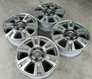 20 Toyota Sequoia Tundra Platinum Limited Trd Pro Oem Factory Stock Wheels Rims