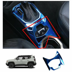Blue Steel Central Console Electronic Handbrake 1pcs For Jeep Renegade 2015 2020