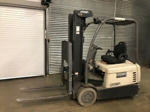 2011 Crown Forklift Sc4520 30 price Reduced