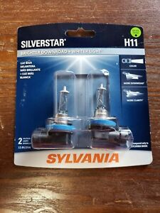 Sylvania Silverstar Ultra H11 Security Sensor 2 Halogen Lamps 12 8v 55w