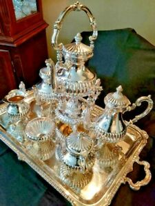 Camusso Sterling Coffee And Tea Service