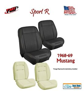 Sport R Seat Upholstery Sport Foam F r For 1968 1969 Mustang Coupe Usa