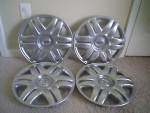 4 2000 01 Toyota Camry Gallery 15 Oem Hubcaps Wheel Covers 42602 33040 61104b