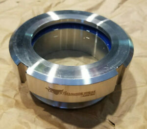 Stampede Stills 3 Low Profile Sanitary Tri clamp Tank Thumper Cone Sight Glass