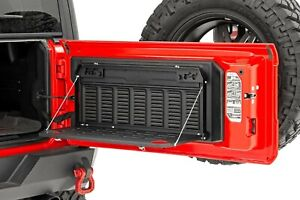Rough Country Folding Tailgate Table For 18 20 Jeep Wrangler Jl Jlu 10625