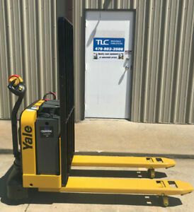 2016 Yale Electric Pallet Jack Model Mpw050 Forklift Walkie Only 1367 Hours