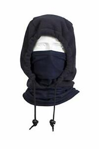 National Safety Apparel H74fl28 Fr Nomex Iiia Fleece 3 in 1 Knit Hood One Size