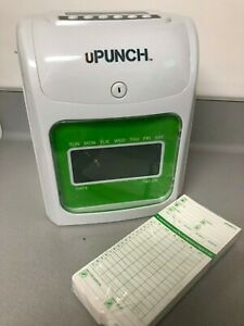 Upunch Time Attendance Terminal Hn3000 Bundle Used