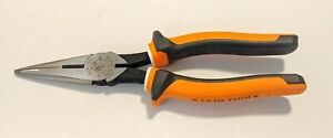 Klein Tools Electrician s Insulated 8 Long Nose Side cutter Pliers 203 8 eins