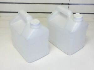 2 Jugs For Carpet Cleaning Pressure Sprayer 5 Quart With Lids Free Ship