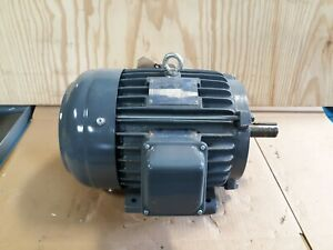 Teco 5hp 3 Phase Electric Motor Np0054 1745 Rpm 1 1 8 Shaft Hazardous S39