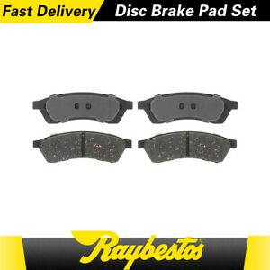 For 2006 2005 2004 Chevrolet Epica Rear Ceramic Brake Pads Raybestos Element3