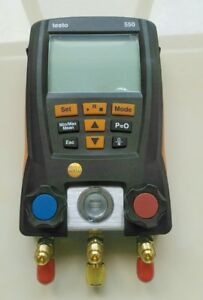 Testo 550 Refrigerant Digital Manifold Tester For 0563 15502 Clamp Probes