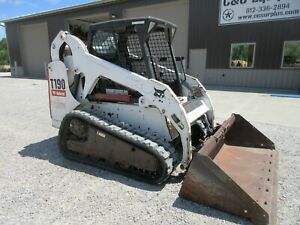 2007 Bobcat T190 Tracked Skid Steer Nice Shape Well Maintained