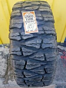 1 Used 35x12 50 17lt Nitto Mud Grappler Extreme Terrain 35125017 15 32nds B