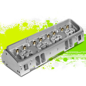 Aluminum Bare Angled Cylinder Head For Chevy Small Block Sbc 302 327 350 383 400