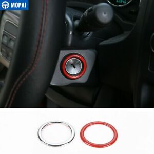 Interior Accessories Ignition Key Ring Cover Trim For Jeep Wrangler Jk 2011 2017