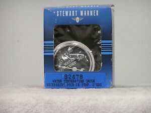 Stewart Warner 82478 Wings Serves Electric Water Temp Gauge New Old Stock