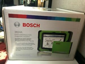 Otc Bosch Esi Hd Truck Multi brand Diagnostic Scan Tool Kit With Tablet 3824a