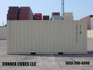 One Trip new 20 Shipping Container In Houston Texas