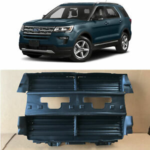 Radiator Shutter Assembly Replaces Part Jb5z8475a For 2013 2019 Ford Explorer