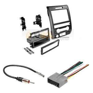 Single double Din Radio Car Stereo Dash Install Kit For 2013 14 Ford F 150